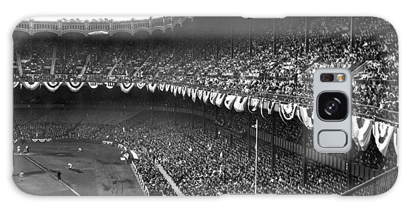 Yankee Stadium Galaxy S8 Case - World Series In New York by Underwood Archives
