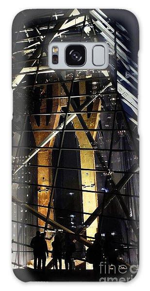 World Trade Center Museum At Night Galaxy Case by Lilliana Mendez