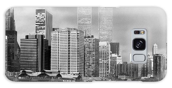 New York City - World Trade Center - Vintage Galaxy Case
