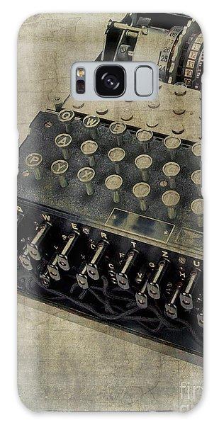 World War II Enigma Secret Code Machine Galaxy Case