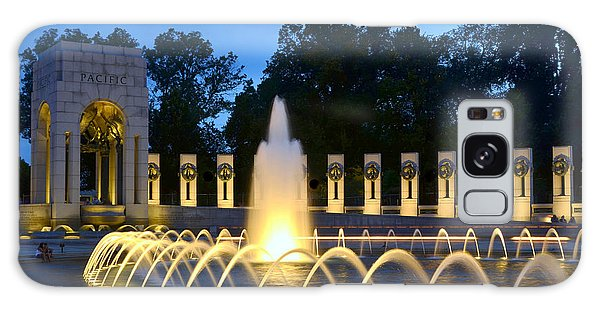 World War II Memorial Galaxy Case by Allen Beatty