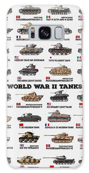Weapons Galaxy Case - World War II Tanks by Zapista Zapista