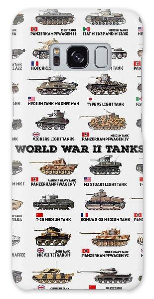 Galaxy Case - World War II Tanks by Zapista Zapista