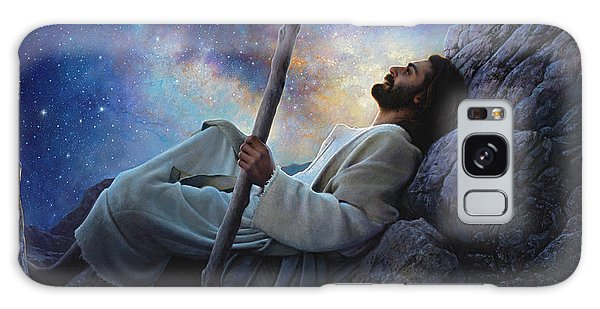 Galaxy Galaxy Case - Worlds Without End by Greg Olsen
