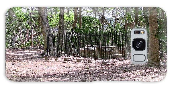 Wormsloe Cemetery Plot Galaxy Case by D Wallace