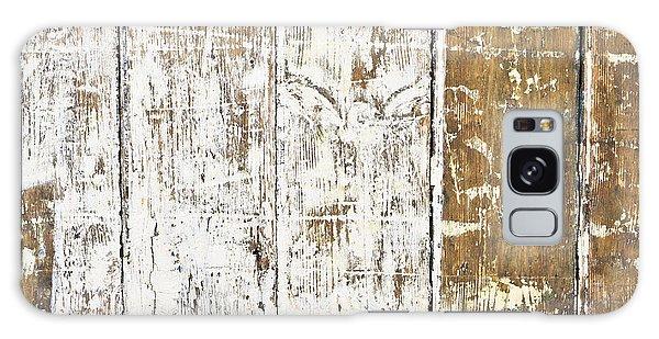 Worn Wood  Galaxy Case