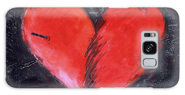 Online Shopping Cart Galaxy Case - Wounded Heart by Karen Francis