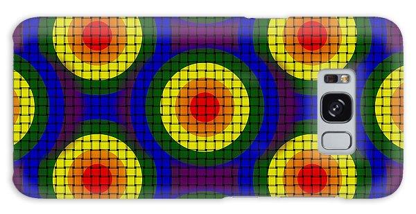 Woven Circles Galaxy Case by Bartz Johnson