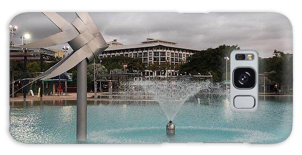 Woven Fish Fountain. Galaxy Case