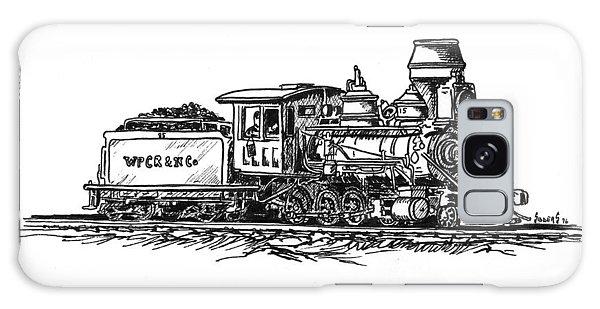 Trains Galaxy Case - W.p.c..r. Loco by Sam Sidders