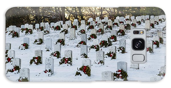 Wreaths At Arlington National Cemetery Galaxy Case