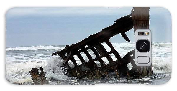 Wreck Of The Peter Iredale Galaxy Case by Chalet Roome-Rigdon