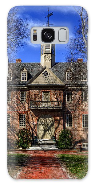 Wren Building Main Entrance Galaxy Case by Jerry Gammon