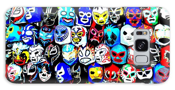 Wrestling Masks Of Lucha Libre Altered Galaxy Case by Jim Fitzpatrick