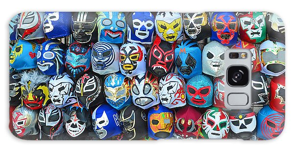 Wrestling Masks Of Lucha Libre Galaxy Case by Jim Fitzpatrick