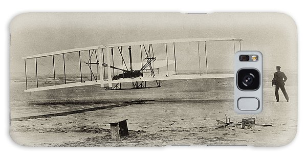 Cannon Galaxy Case - Wright Brothers - First In Flight by Bill Cannon