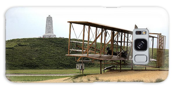 Wright Brothers Memorial At Kitty Hawk Galaxy Case