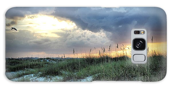 Wrightsville Beach South End Sunset Galaxy Case