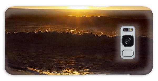 Wrightsville Beach Sunrise Galaxy Case by William Love