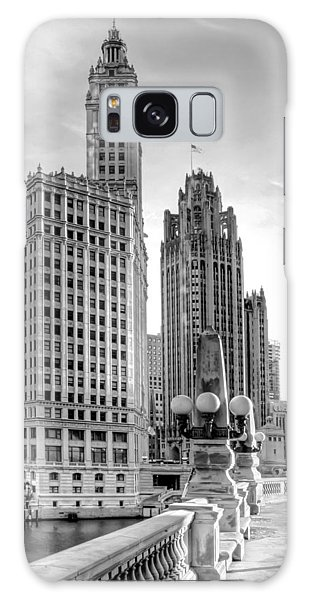 Chicago Art Galaxy Case - Wrigley And Tribune by Scott Norris