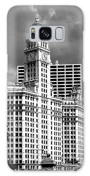 Wrigley Building Chicago Illinois Galaxy Case by Christine Till