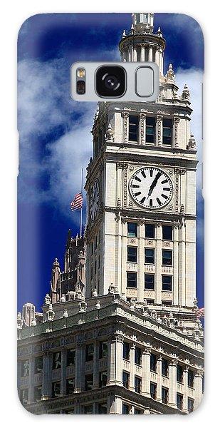 Wrigley Building Clock Tower Galaxy Case