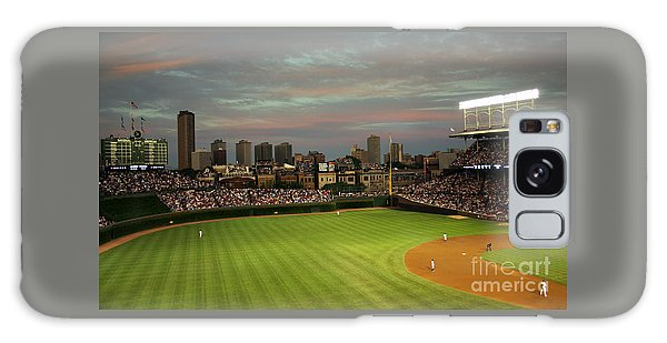 Wrigley Field At Dusk Galaxy Case