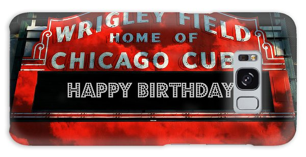 Wrigley Field -- Happy Birthday Galaxy Case