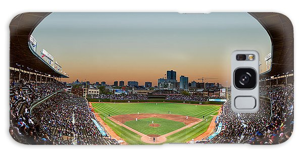 Fields Galaxy Case - Wrigley Field Night Game Chicago by Steve Gadomski