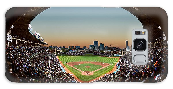 Wrigley Field Night Game Chicago Galaxy S8 Case
