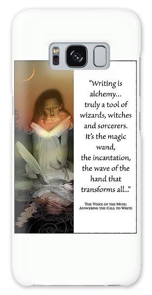 Writing Is Alchemy Galaxy Case