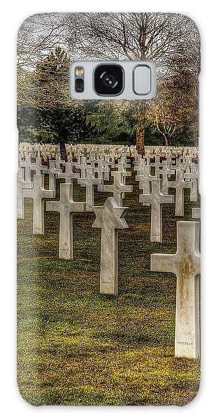 Ww II War Memorial Cemetery Galaxy Case by Elf Evans