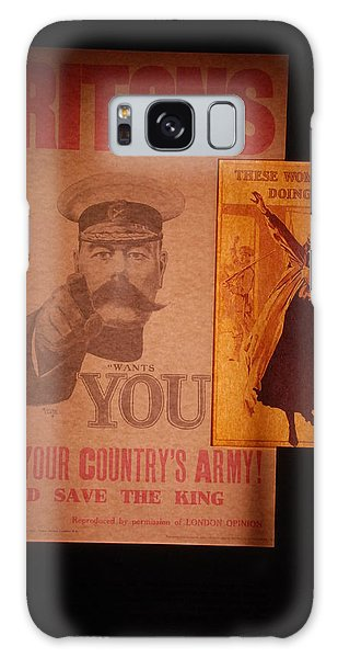 Ww1 Recruitment Posters Galaxy Case