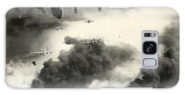 Wwii B-24 Liberators Over Ploesti Galaxy Case