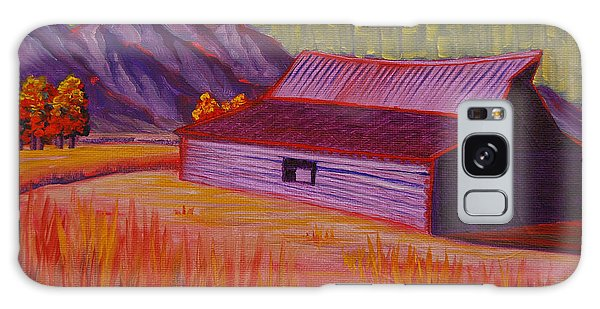Wyoming Barn In Red Galaxy Case