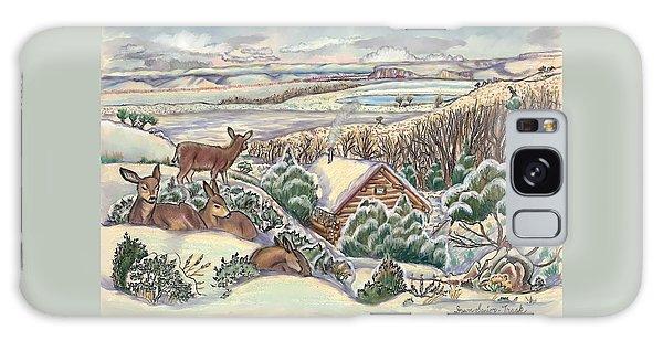 Wyoming Christmas Galaxy Case