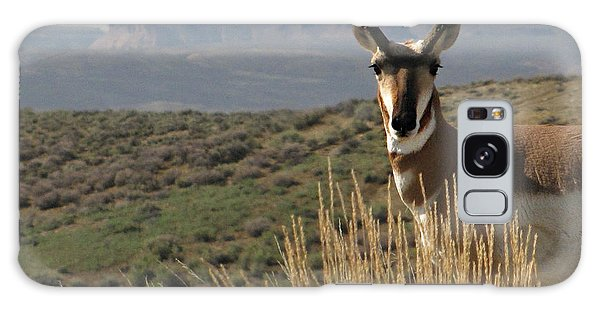 Wyoming Pronghorn Galaxy Case by Katie Wing Vigil