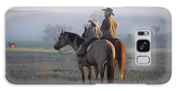 Wyoming Ranch Galaxy Case