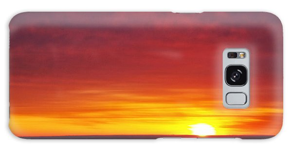 Wyoming Sunrise Galaxy Case