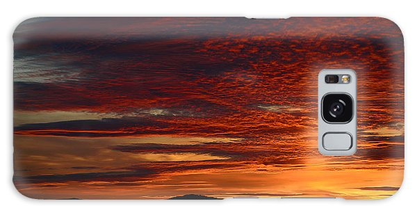 Wyoming Sunset #1 Galaxy Case