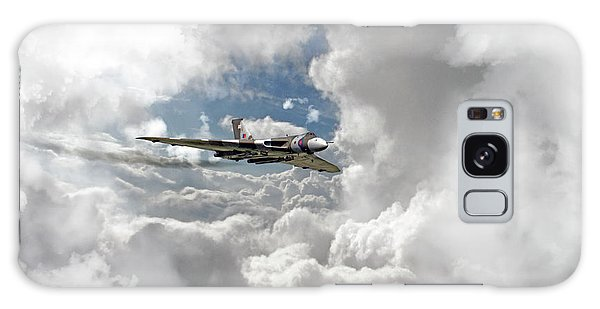 Black Buck Galaxy Case - Xh558 At Altitude by J Biggadike