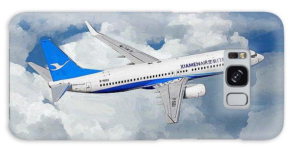 Xiamen Airlines Boeing 737 800 Galaxy Case by Nop Briex