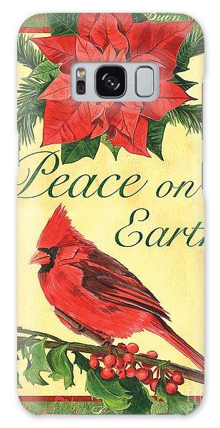 Cardinal Galaxy Case - Xmas Around The World 1 by Debbie DeWitt