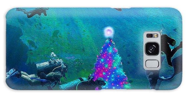 Xmas Under The Sea 1 Galaxy Case