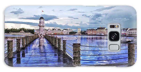 Yacht And Beach Club Lighthouse Galaxy Case by Thomas Woolworth