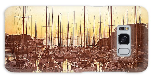 Yacht Harbor In The Late Afternoon Galaxy Case