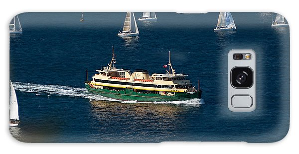 Yachts And Manly Ferry On Sydney Harbour Galaxy Case