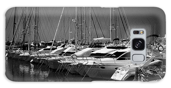 Powerboat Galaxy Case - yachts and powerboats in the port marina Cambrils Catalonia Spain by Joe Fox