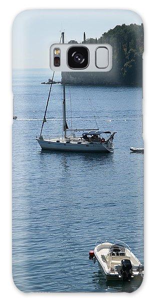 Yachts At Anchor Galaxy Case