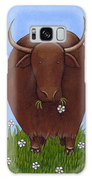 Whimsical Yak Painting Galaxy S8 Case